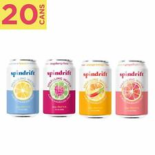 Spindrift Sparkling Water, 4 Flavor Variety Pack, Made With Real Squeezed Fruit,