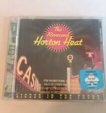 The Reverend Horton Heat RARE Promo CD Liqour in the Front Sub Pop 1994 92364-2