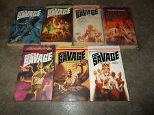 DOC SAVAGE SERIES~KENNETH ROBESON~ALL NEW ADVENTURES~COMPLETE 7 BOOK COLLECTION