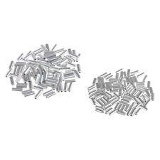 200x Crimphülsen, 1 / 1.5mm Innendurchmesser Drahtraupen für Pike,