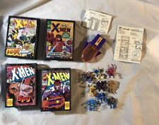 VINTAGE 1994 Marvel Toybiz X-MEN POCKET COMICS Playset Lot Wolverine Cyclops