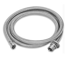 GAS BAYONET HOSE TO SUIT WEBBER Q & BABY Q 3 METER BRAIDED 3/8 SAE CARAVAN BBQ