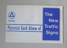 Vintage ROSPA Pictorial Card Album of The New Road Signs - Complete