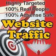 1,000 visitantes Real! altamente sitio web especializado para el tráfico! 100% Adsense seguro!