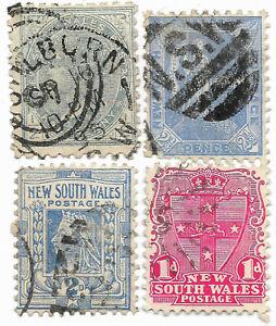 Nouvelle Galles du Sud, 1897 / 1906 - Livraison offerte dès 5 lots achat groupé
