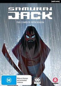 Samurai Jack - Season 5 DVD