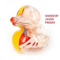 Signed Jason Freeny 4D MASTER Bathing Ducky Funny Anatomy Toy Mighty JAXX
