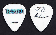 The Boxmasters J. D. Andrew Signature White Guitar Pick - 2015 Tour