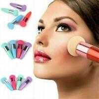 Makeup Foundation Sponge Blender-Blending Puff Powder Brush Smooth Beauty Kit