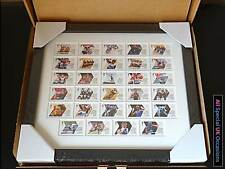 Official Olympic London 2012 Team GB Gold Medal Winners Stamps Framed Set