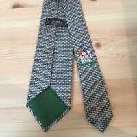Screen Accurate the Matrix MORPHEUS Necktie Green Neck Tie 100/% Silk