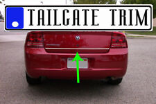 Dodge CHARGER 2006 07 08 2009 2010 2011-2017 Chrome Tailgate Trunk Trim Molding