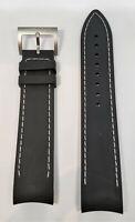 Original Hamilton Khaki H776120 / H776121 / H776140 Black Rubber 21mm Band Strap