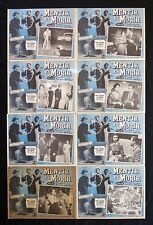 THE PRICE OF FEAR LEX BARKER MERLE OBERON LOBBY CARD SET UNUSED MEXICAN 1956