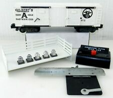 American Flyer S #24634 Bay Window Caboose ~Lighted~Painted  NICE!  F19