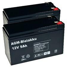 BLEI AKKU BATTERIE kompatibel für AKKUSATZ APC Back-UPS RS BR800I RBC32 RBC 32 9