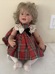 Lee Middleton doll Jesus Loves Me By Reva Schick