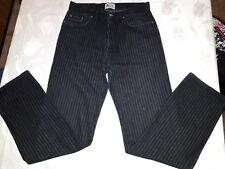 jeans  nero a righe , Dolce & Gabbana jeans ,uomo/donna 46,