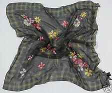 NEUF GUESS PAR MARCIANO écharpe en tissu 100% soie 65cm x (35) 1-16