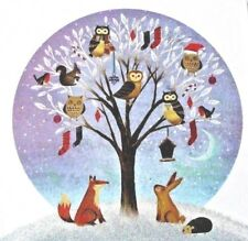 Charity Xmas Pack of 10 Cards 1 Design Winter Woodland Royal Trinity Hospice