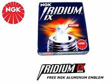 MAZDA 3 6 MAZDASPEED IRIDIUM IX SPARK PLUGS KIT SET NEW - FREE ALUMINUM EMBLEM