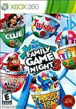 Hasbro Family Game Night 3 (Microsoft Xbox 360, 2010)