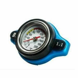 Small Head 1.1Bar Thermo Thermostatic Radiator Cap Cover Water Temperature Gauge