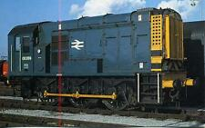 Class 08 Diesel Shunter 08289 Doncaster Works 1979 OPC #71 postcard