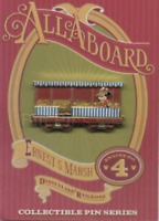 Disney Pin 13638 DLR Ernest S. Marsh Train Series Minnie Mouse Holiday Car LE