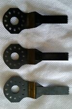 Lot 3 Bosch OSC38 3/8'' x 1-1/4'' Plunge Cut Blades NEW wood floors dowels trim