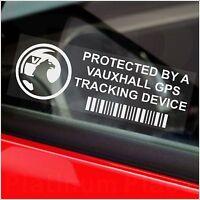 5 x Vauxhall 2008+ GPS Tracking Device Security Stickers-Car Van Alarm Tracker