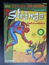 Strange N° 154 PROCHE DU NEUF avec poster détaché  Lug  Comics Semic Marvel