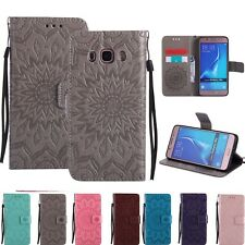 Embossed Magnetic Slim Stand Case Cover For Samsung Galaxy J3 J5 J7 A3 A5 2016
