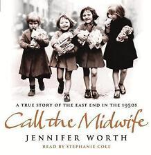 Call The Midwife, Jennifer Worth, 4 Audio CD's.
