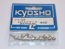 Kyosho FX-34 6.8mm Pillow Bal (10pcs) For FX 1/8 Scale F1 & Others - FX34
