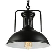 Farmhouse Industrial Metal Dome Pendant Light Vintage Barn Ceiling Lamp Fixture
