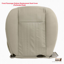 2004 Lincoln Aviator - Front PASSENGER Bottom PERFORATED Leather Seat Cover Tan