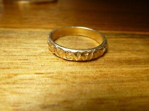 Retired James Avery Ring - Always and Forever 14K Gold 5.8 grams Size 10