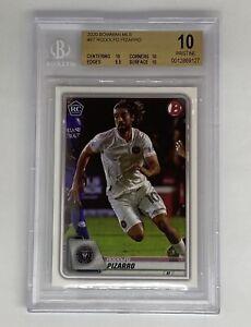 2020 Bowman MLS Rodolfo Pizarro #87 Rookie Card BGS Pristine 10 Inter Miami FC