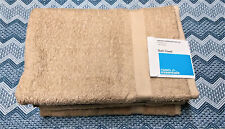 """Room Essentials Bath Towel 27"""" x 52"""" Tan Set of 4 New with Tags"""