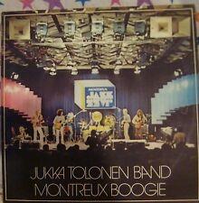 "12"" VERY RARE LP MONTREAUX BOGGIE BY JUKKA TOLONEN (1978) SONET RECORDS SLP 2622"