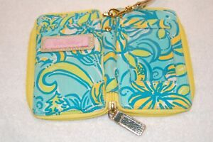 Lilly Pulitzer Carded ID Wristlet Canvas Wallet