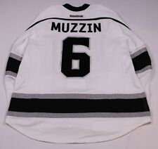 LA Kings #6 Jake Muzzin Game-Worn Used Jersey 2nd Set w/Bob Miller 44 Patch