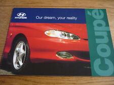 Hyundai Coupe folleto de ventas 1996 97 Jm