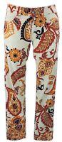 Gucci Jeans 38 (I) 34 (D) new leggings weiß Muster braun floral pants wie neu
