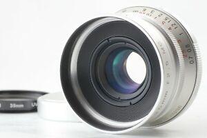 【Near MINT+++】 Voigtlander Color Skopar 35mm f/2.5 MC lens Leica L39 JAPAN 0145