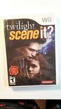 Scene It? Twilight - Nintendo Wii NEW AND SEALED