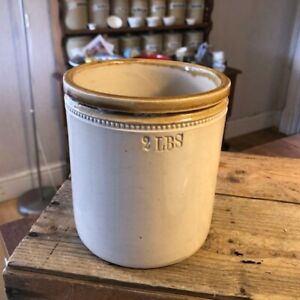 Vintage Stoneware Kitchen Storage Jar / Pot – 2lbs – Kitchenalia! –