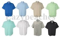Columbia - Men's PFG Tamiami™ II, Short Sleeve Shirt, Ripstop, Sizes S-2XL, 3XL
