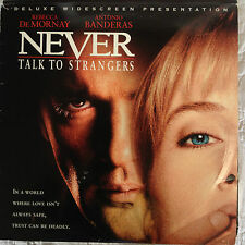 Never Talk To Strangers   Widescreen Edition   Laserdisc